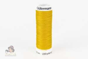 Нитки Gutermann Sew-All 106 т.желтый